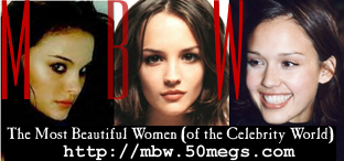 The Most Beautiful Women (Of The Celebrity World)~50megs Edition